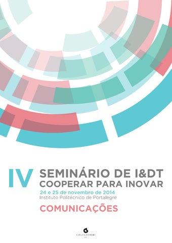 Iv seminrio de idt cooperar para inovar by c3i ipp issuu page 1 fandeluxe Images