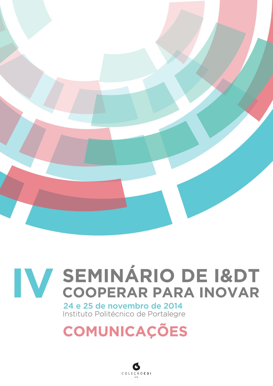 Iv seminrio de idt cooperar para inovar by c3i ipp issuu fandeluxe Gallery