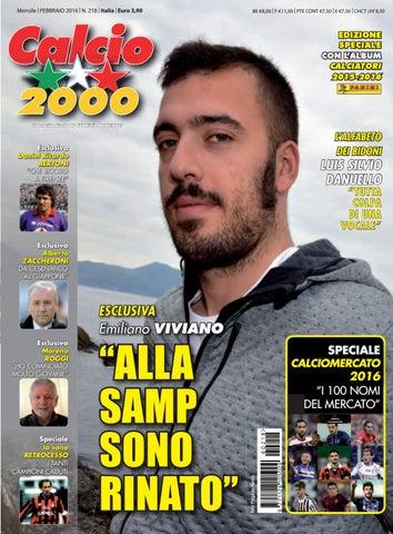 Calcio2000 N218 By Tcc Srl Issuu