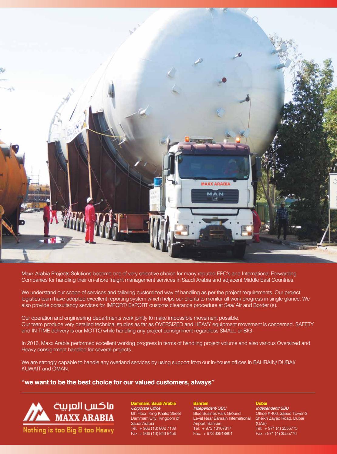 Logistics News ME - December 2016 by BNC Publishing - issuu