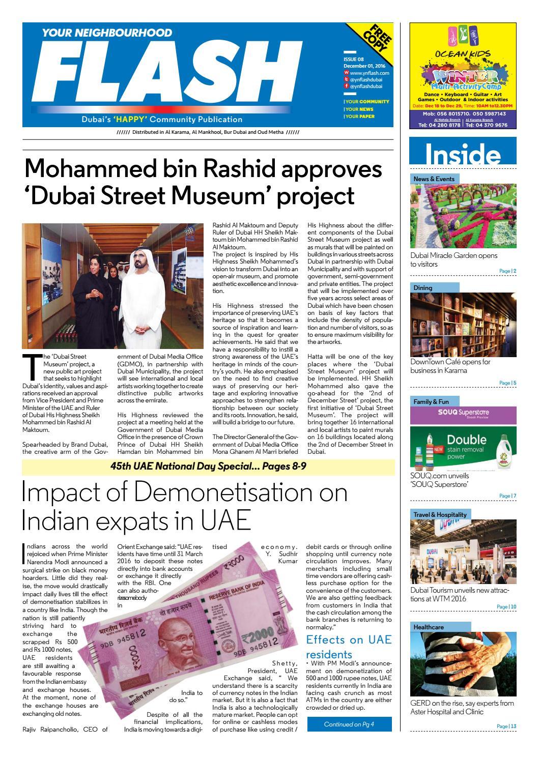 Ynflash 1 15 dec 16 old dubai pdf by Promag International Media FZ ...