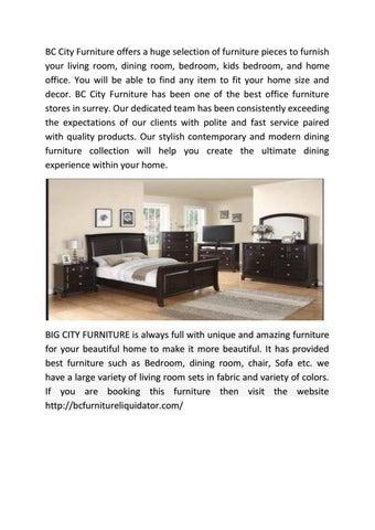 Affordable Furniture Surrey By Bcfurnitureliquidator Issuu - Bedroom furniture surrey bc
