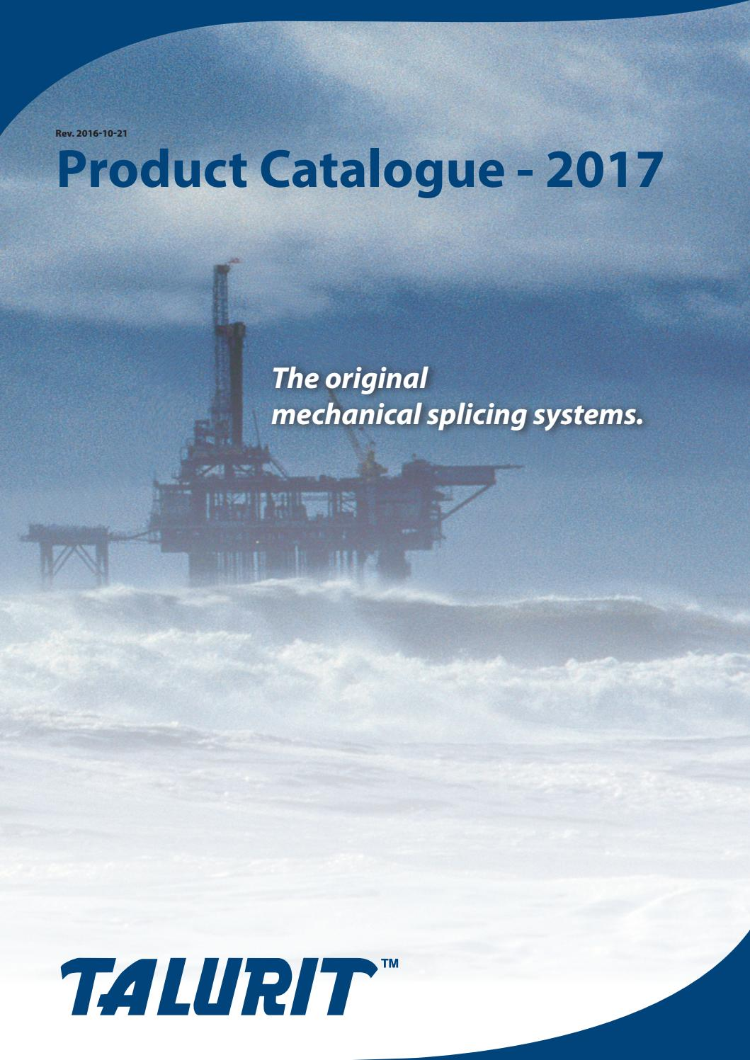 TALURIT™ Product Catalogue 2017 by Sophie Björkqvist - issuu