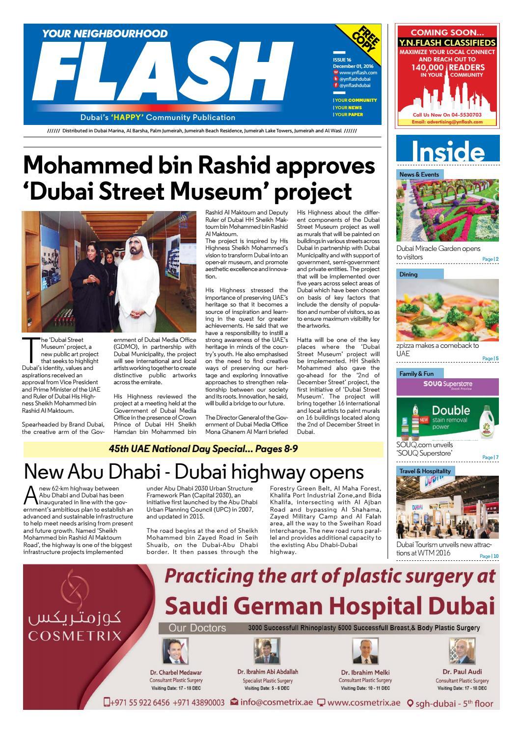 Ynflash 1 15 dec 15 new dubai pdf by Promag International Media FZ ...