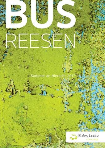 Busreesen Sommerkatalog 2017 By Sales Lentz