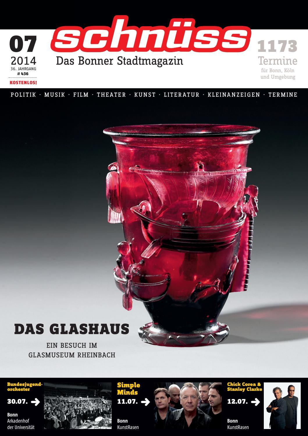 Schnüss 2014/07 By Schnüss   Das Bonner Stadtmagazin   Issuu