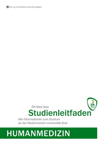Studienführer Humanmedizin ÖH Med Graz by Medizynisch - issuu