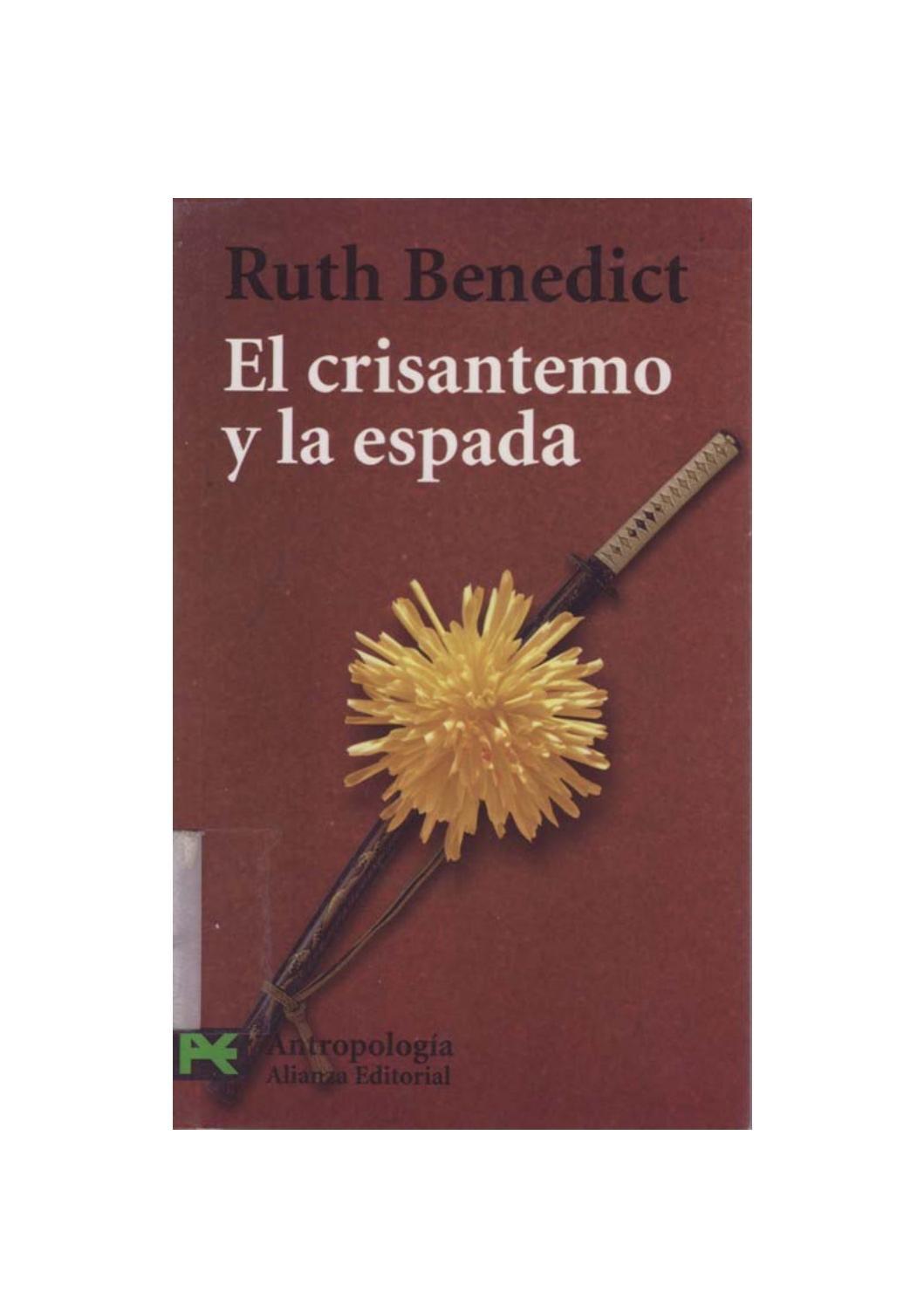 08926bb480 226613442 benedict ruth el crisantemo y la espada pdf by Clariola Fenoll  Garcia - issuu