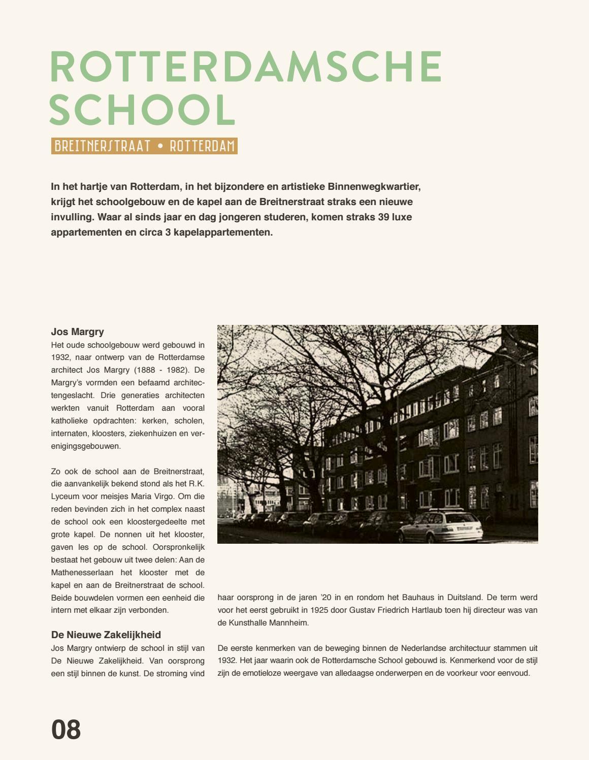 de rotterdamsche school brochure defvorm holding - issuu