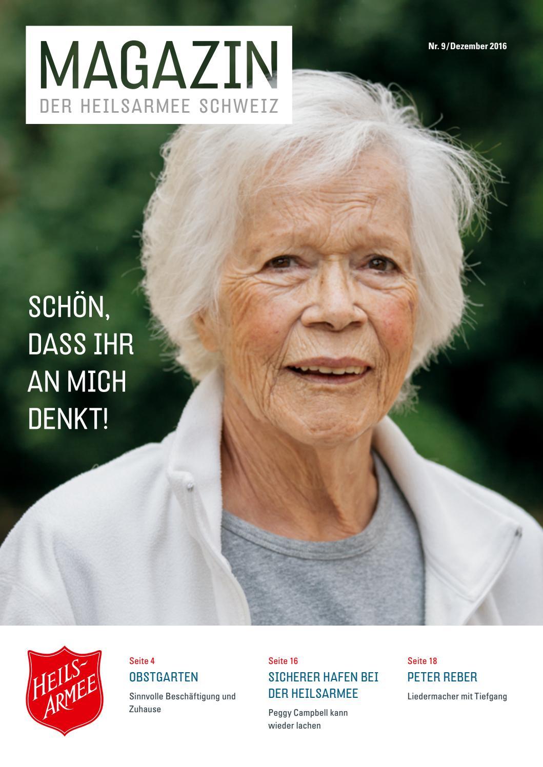 Magazin Nr. 9 / Dezember 2016 by Heilsarmee, Armée du Salut - issuu