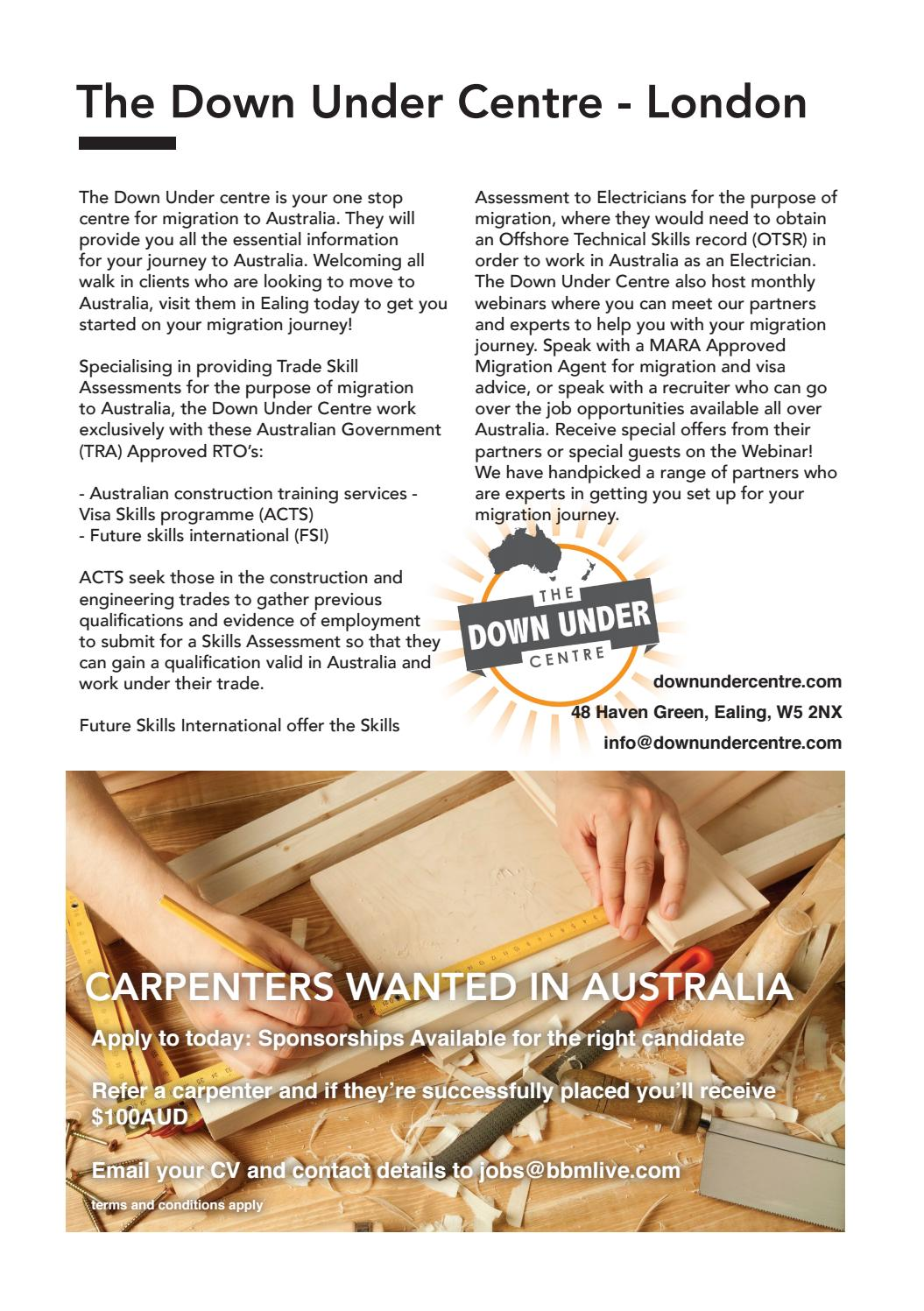 Down under jobs guide 2017 by bbmlive com - issuu