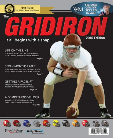 3e17dbc89d9 The Gridiron 2016 - High School Football Preview by Herald-Star - issuu