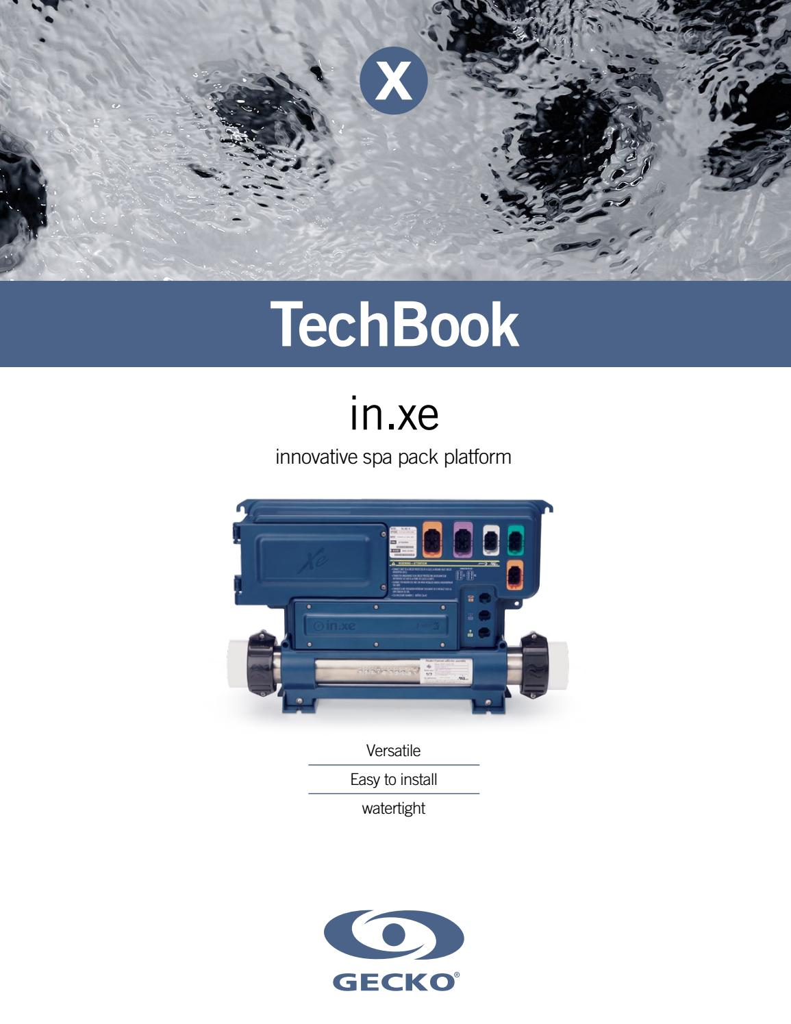 In Xe Control System Techbook By Gecko Marketing