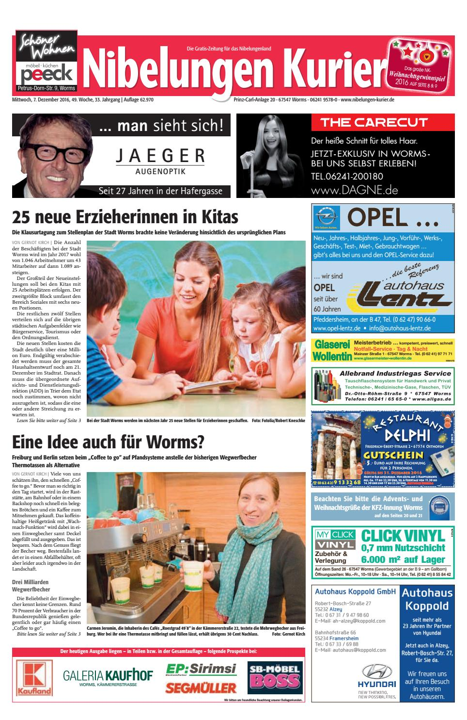 Weihnachtsgrüße Zeitungszusteller.49mi16 Nibelungen Kurier By Nibelungen Kurier Issuu