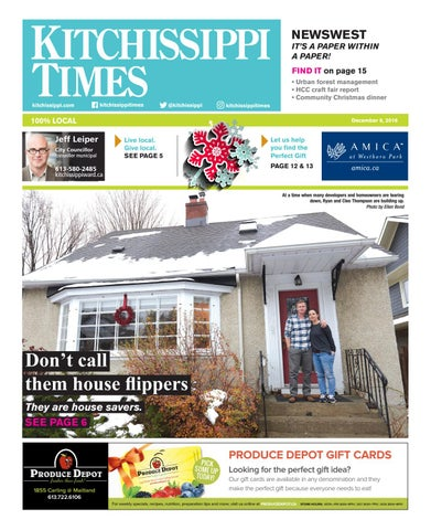 64e5d211cee Kitchissippi Times | December 8, 2016 by Great River Media inc. - issuu