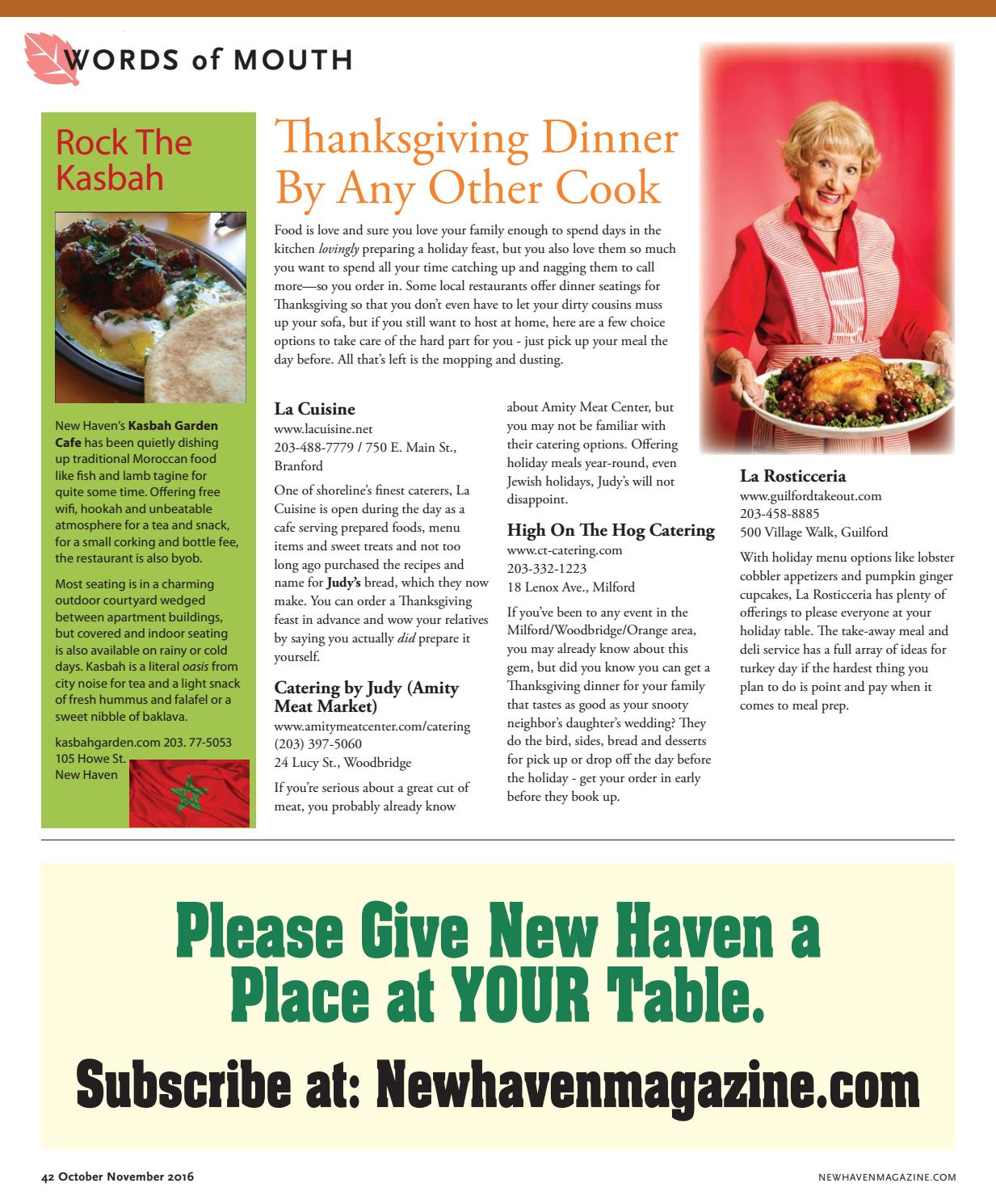 New Haven Magazine November 2016 by Second Wind Media Ltd