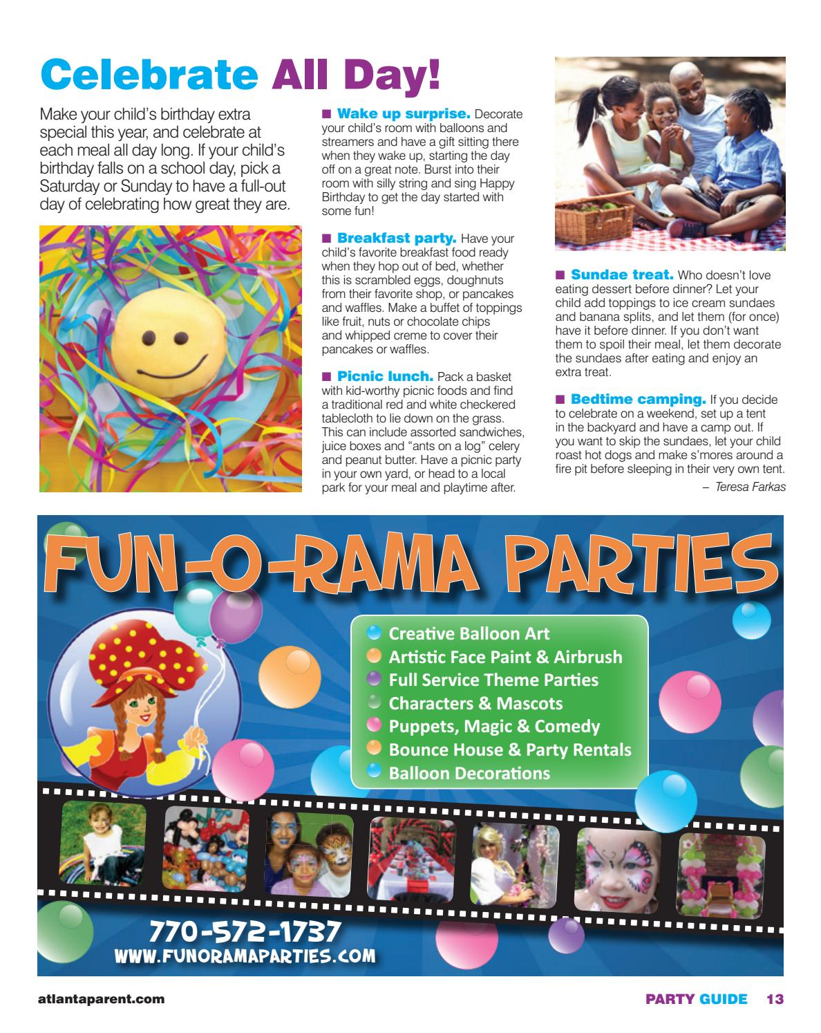 party guide by atlanta parent issuu