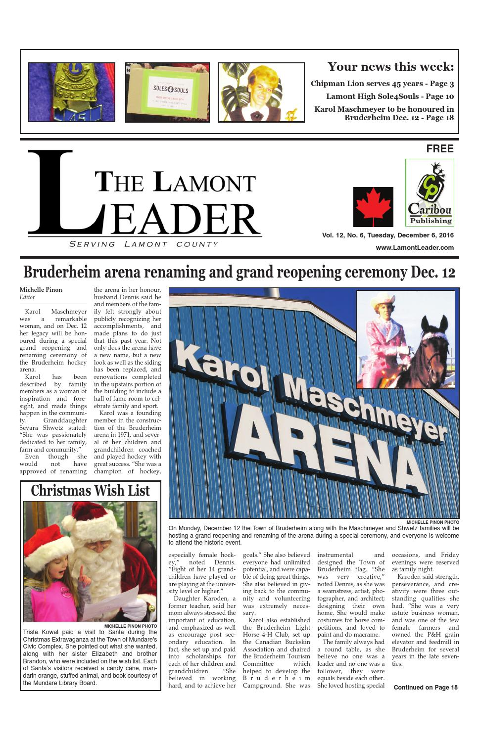 December 6 Leader by Caribou Publishing - issuu