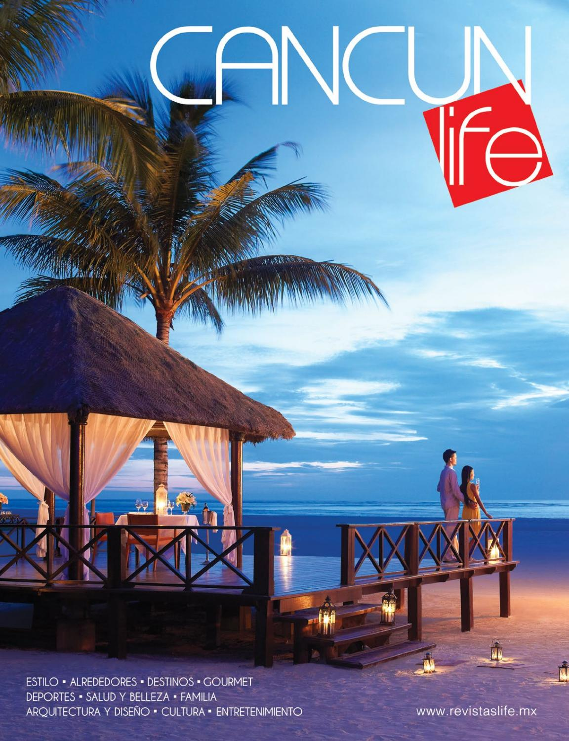 Cancun Life Invierno 2016 by Revistas Life - issuu 8cfc7f8123d2