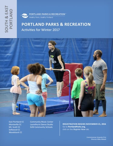 East Portland Community Center Winter 2017 By Portland Parks