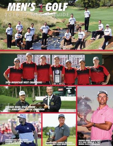 3ba4a0d1903d5e 2016-17 UNLV Men s Golf Media Guide by UNLV Sports Information - issuu