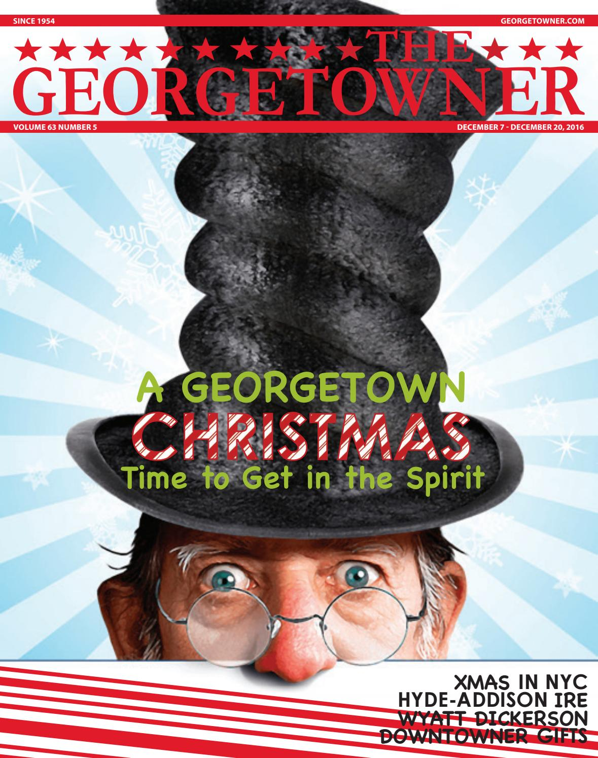 f3f3959e9315 Georgetowner's December 7th Issue by Georgetown Media Group, Inc ...
