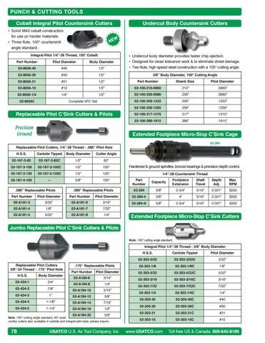 Pilot Shaft for Counterbore 5//32 OD with 5//32 Shaft