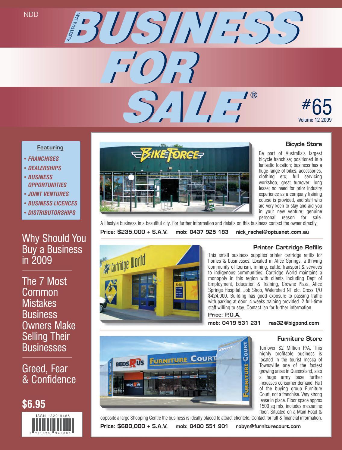 Issue 65 - Australian Business For Sale by Australian