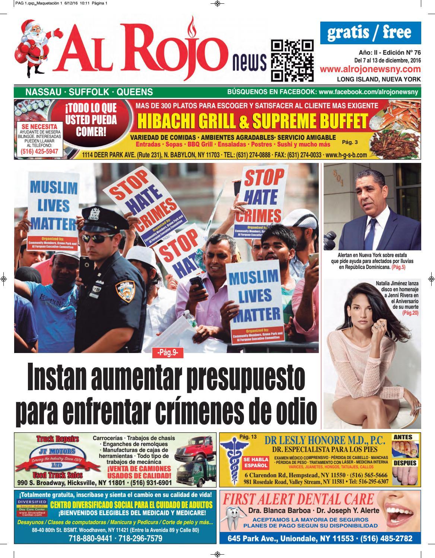 Al Rojo News año II edición 76 by Jose Rivas - issuu