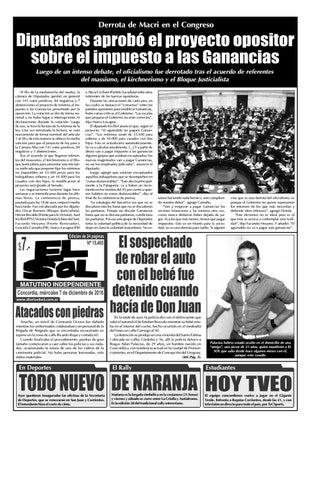Diario El Sol (Miércoles 07 diciembre 2016) by Diario El Sol - issuu