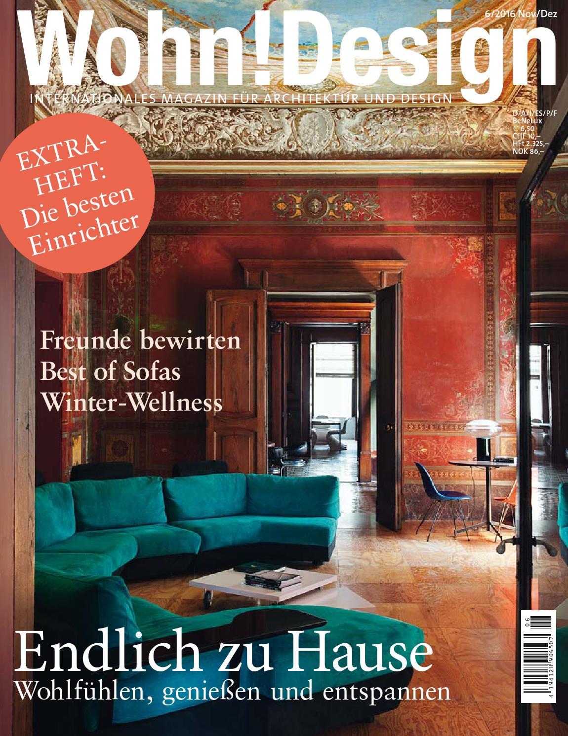 Wohn!Design 6/2016 by Wohn!Design - issuu