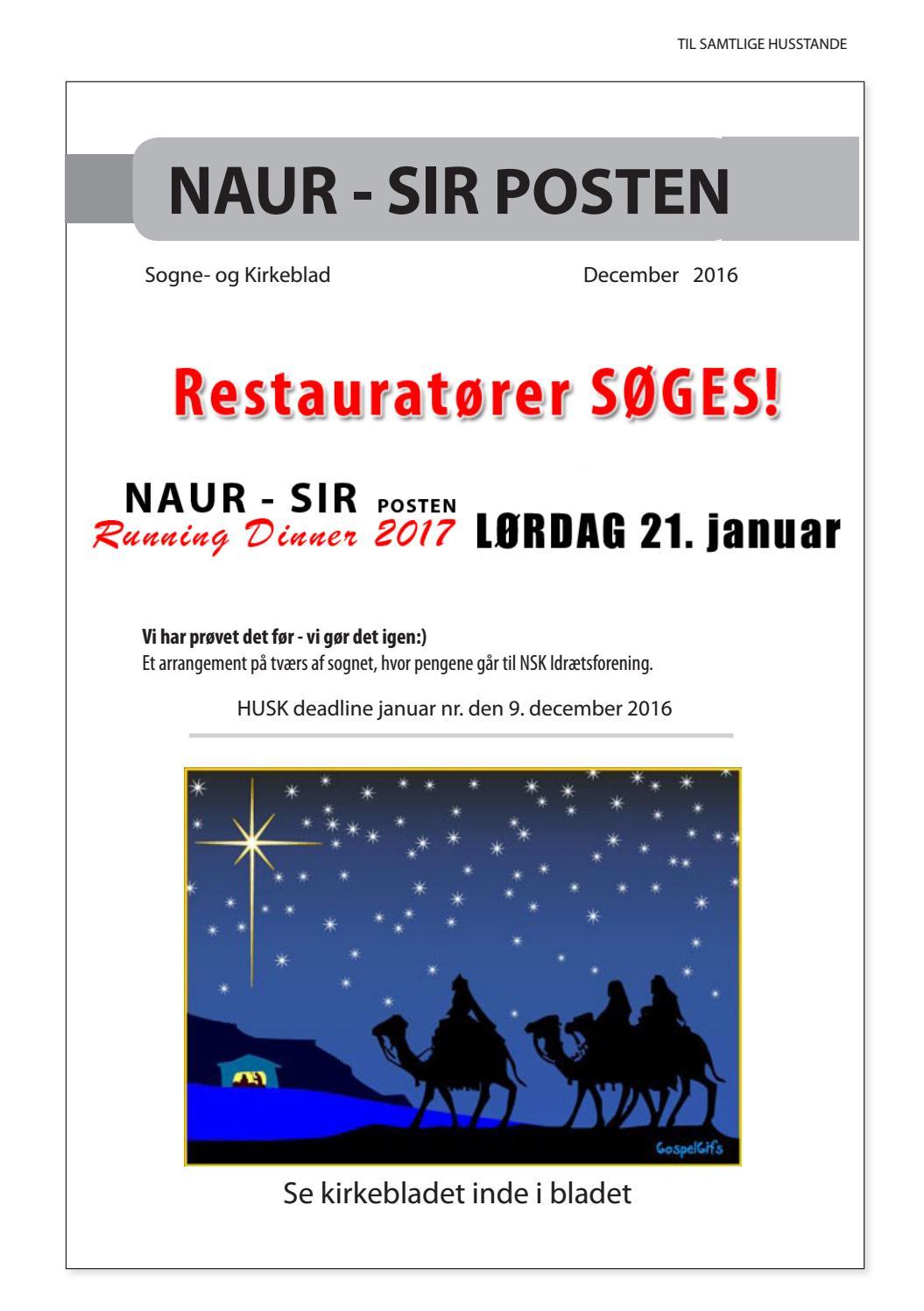 c80e6014f8ea Naur-Sir Posten 10.2016 by Naur-Sir Posten - issuu