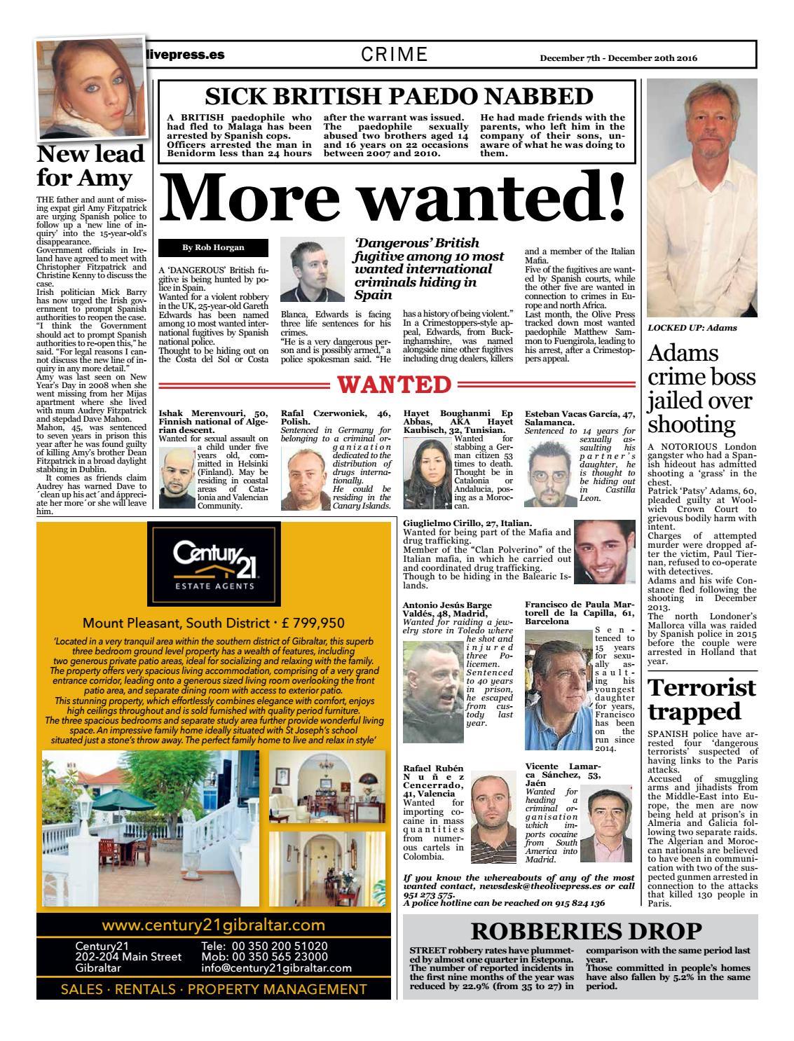 Olive Press Newspaper – Issue 254 by Olive Press Newspaper