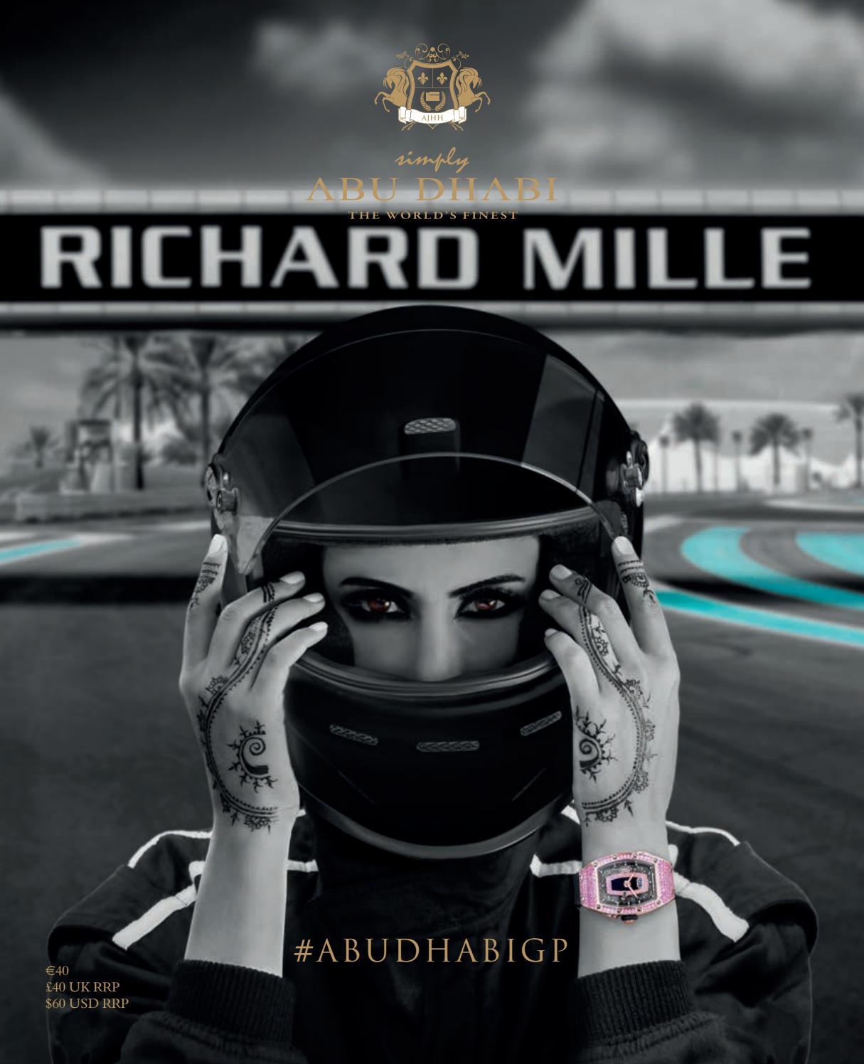 Simply Abu Dhabi Luxury Lifestyle UAE Richard Mille by Arnie S Hira ... bd9864386a60