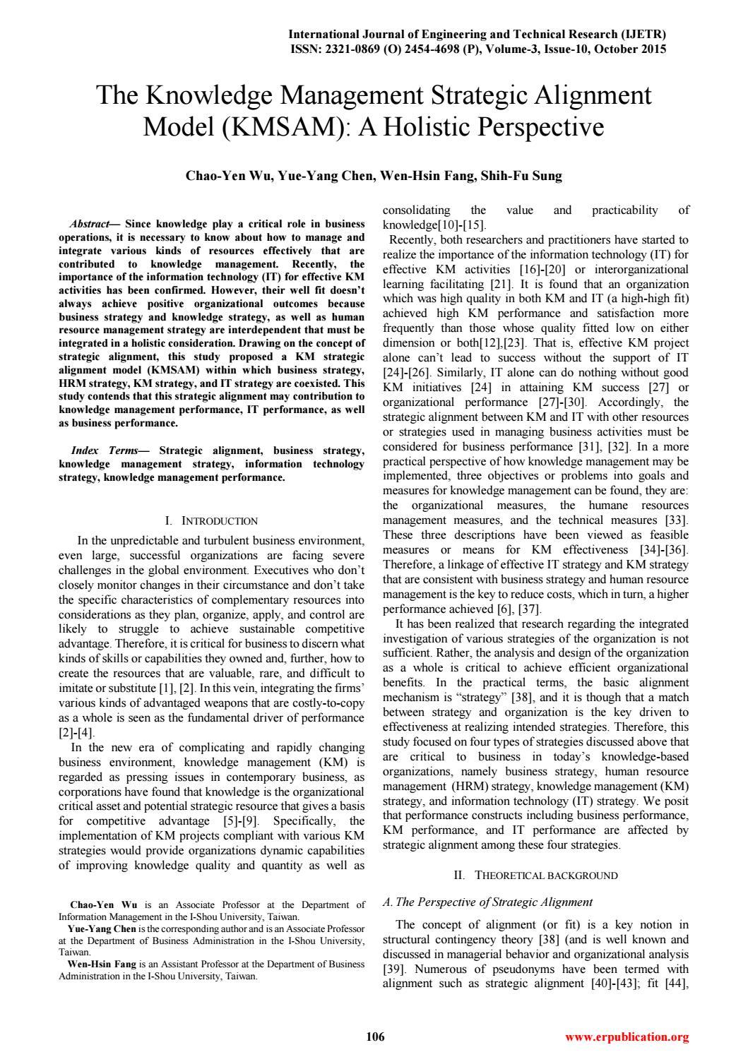 Ijetr033251 by International Journal of Engineering