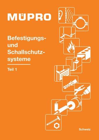 Katalog URFER-MUEPRO Befestigungstechnik AG Teil 1 by URFER-MUEPRO ...
