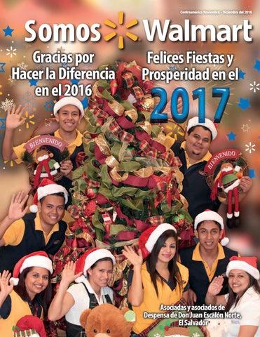 Revista Somos Walmart Diciembre 2016 by Por la gente - issuu
