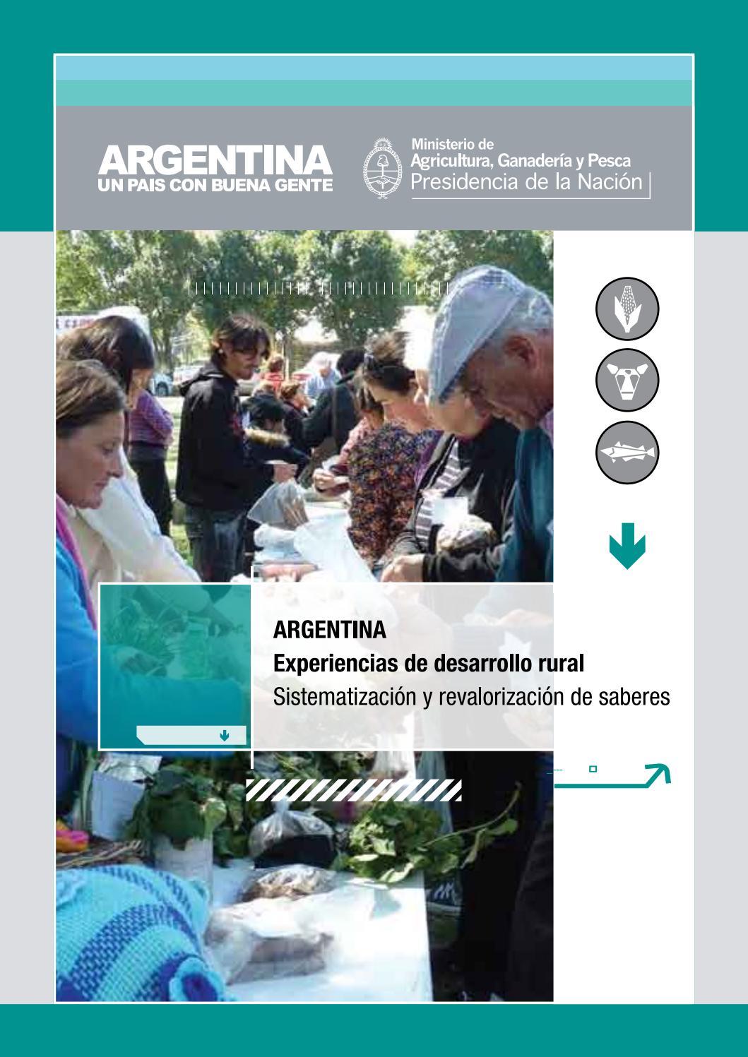 Argentina. Experiencias de desarrollo rural. Sistematización y ...