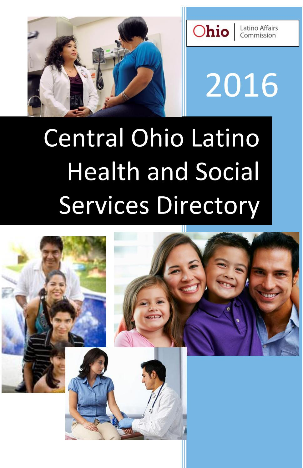 2016 Central Ohio Latino Health and Social services Directory by ...