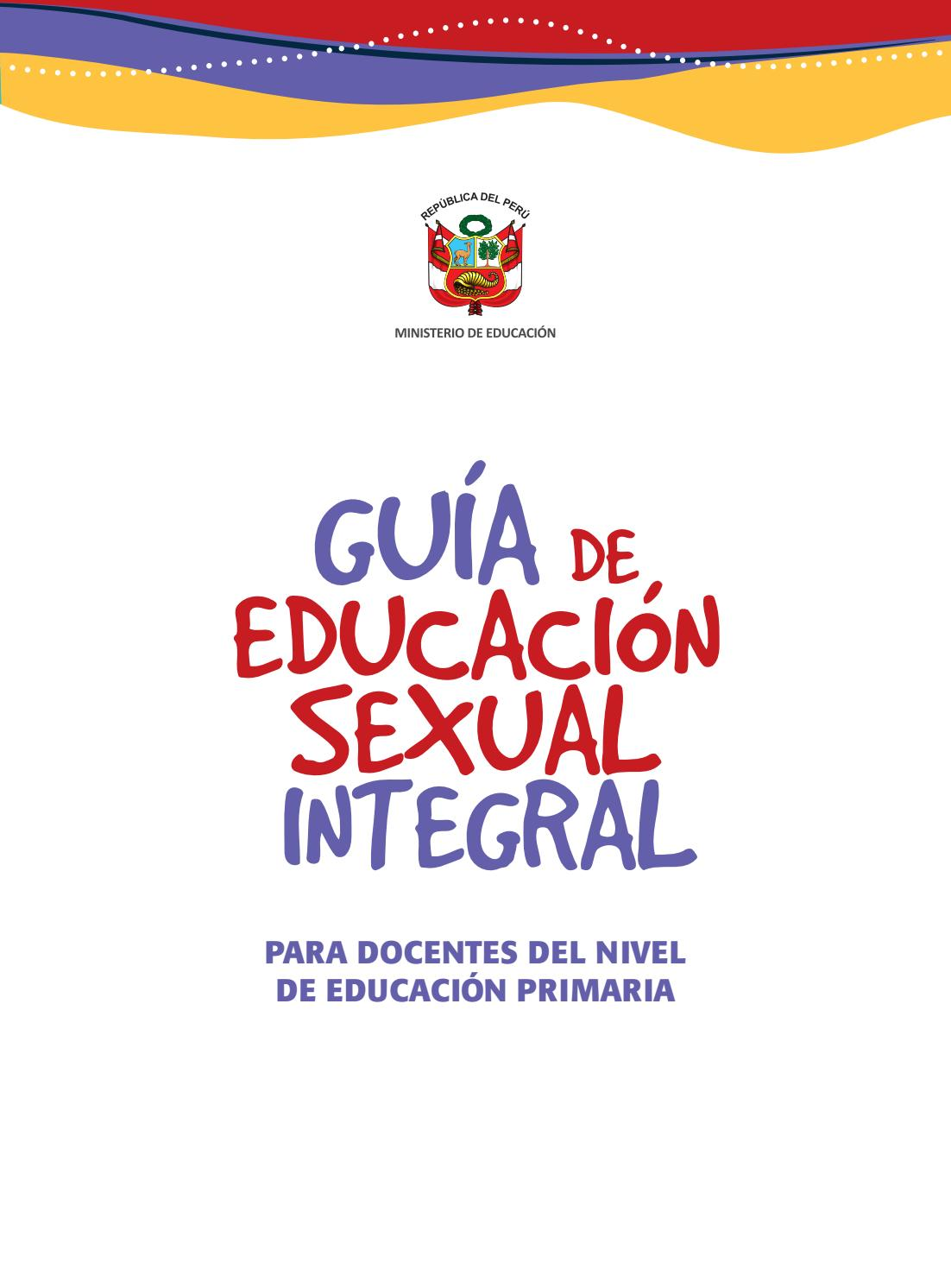 Guia educacion sexual integral nivel primaria by LLP - issuu