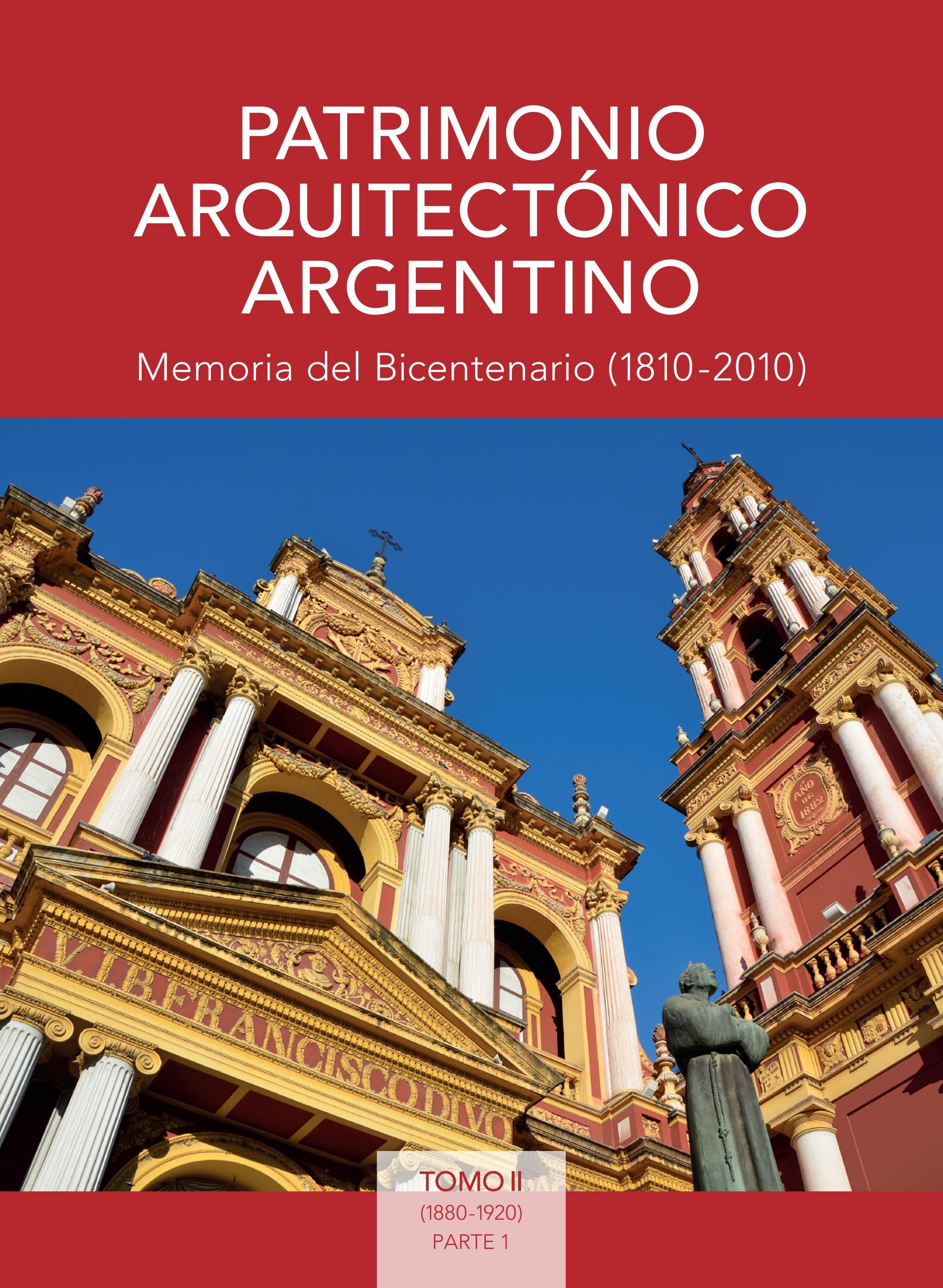Patrimonio arquitect nico argentino tomo ii parte 1 for Revistas del espectaculo argentino