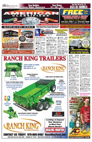 American Classifieds Dec  8th Edition Bryan/College Station by