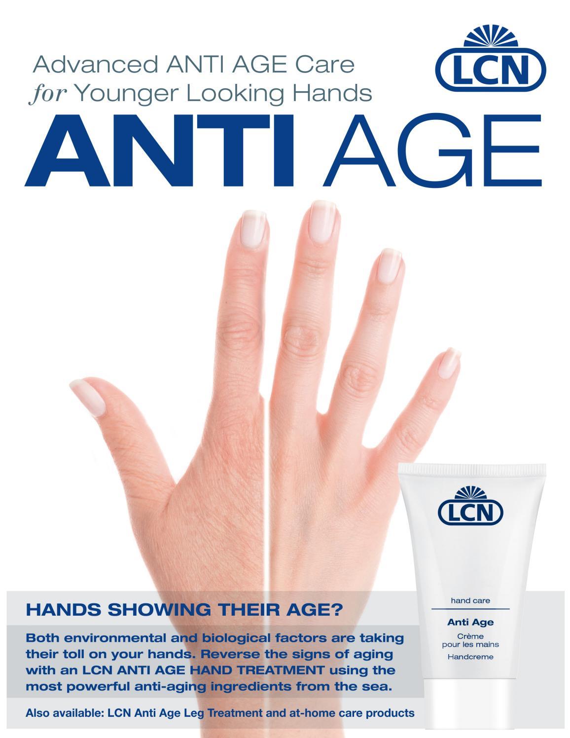 Lcn Anti Age Hand Leg Treatment By Lcn Usa Issuu