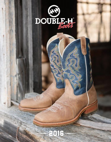 8c72623d907 2016 Double H Product Catalog by HH Brown Work & Outdoor Group - issuu