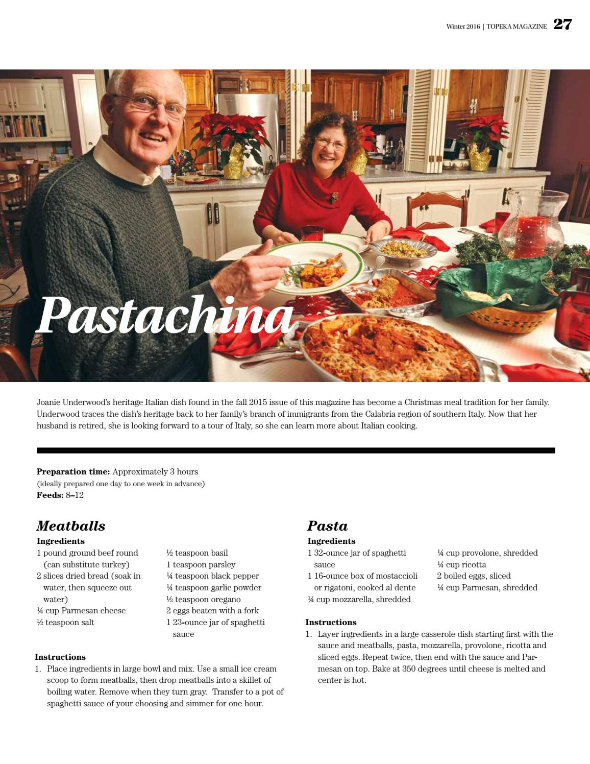 10-Year Anniversary Food Issue   Topeka Magazine winter 2016 by ...