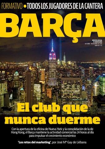REVISTA BARÇA - Nº83 - CASTELLANO by FC Barcelona - issuu d16f9b95f4e