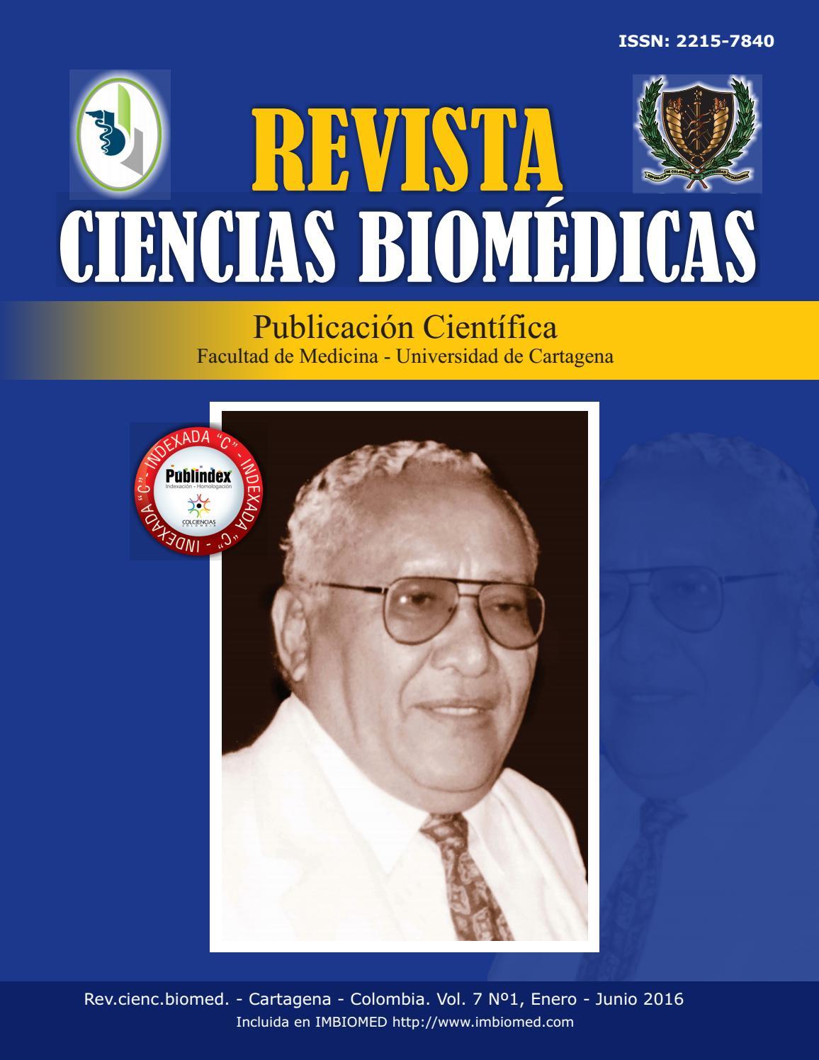 Revista Ciencias Biomédicas Vol. 7(1) by Revista Ciencias Biomédicas ...