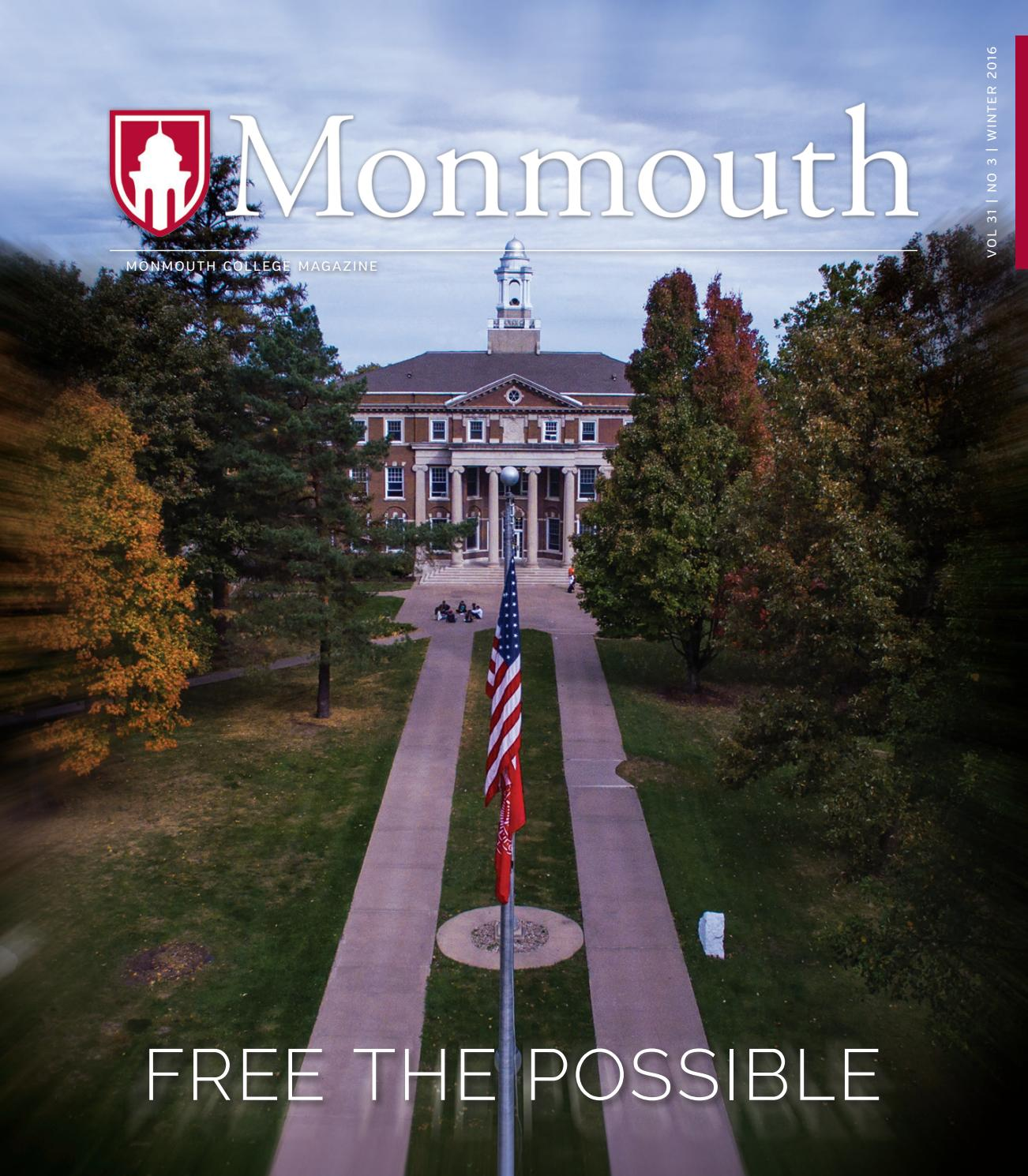 Monmouth College 2016 Winter Magazine by Monmouth College