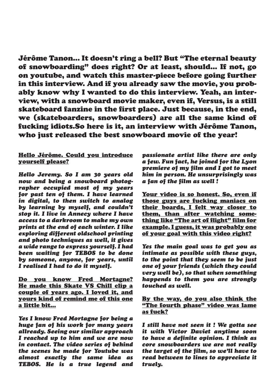 Versus Skatezine & Plus #132 by Jeremy Durand - issuu