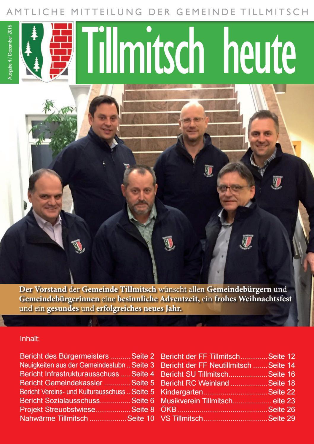 Gemeindezeitung Tillmitsch September 2016 by Ren Dretnik